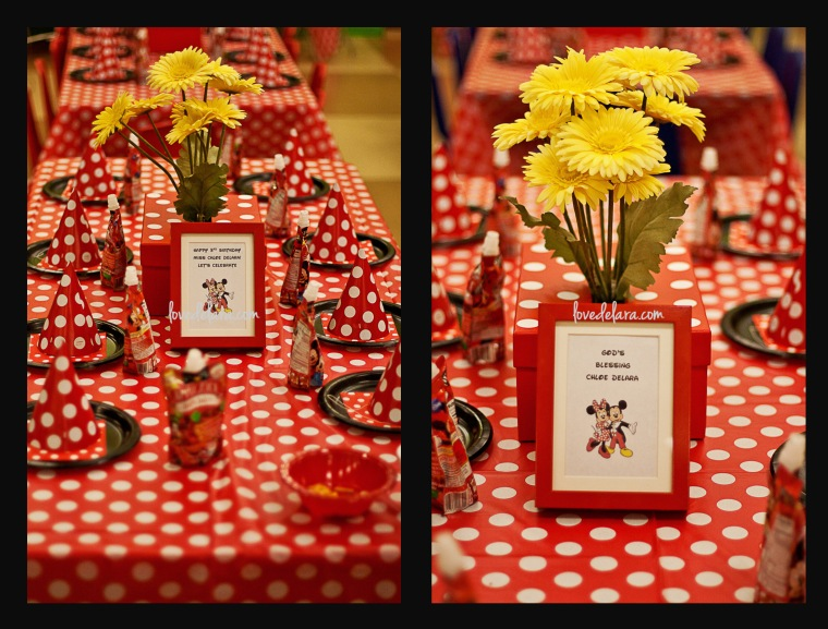 Minnie Mouse Themed Birthday - www.lovedelara.com
