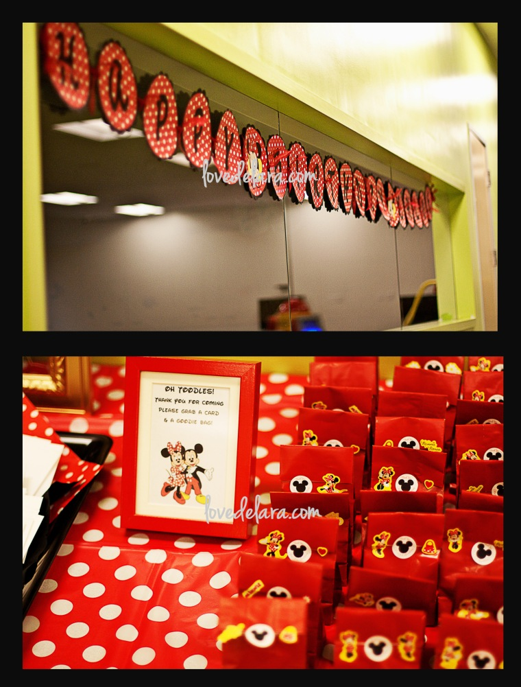 Minnie Mouse Themed Party - www.lovedelara.com