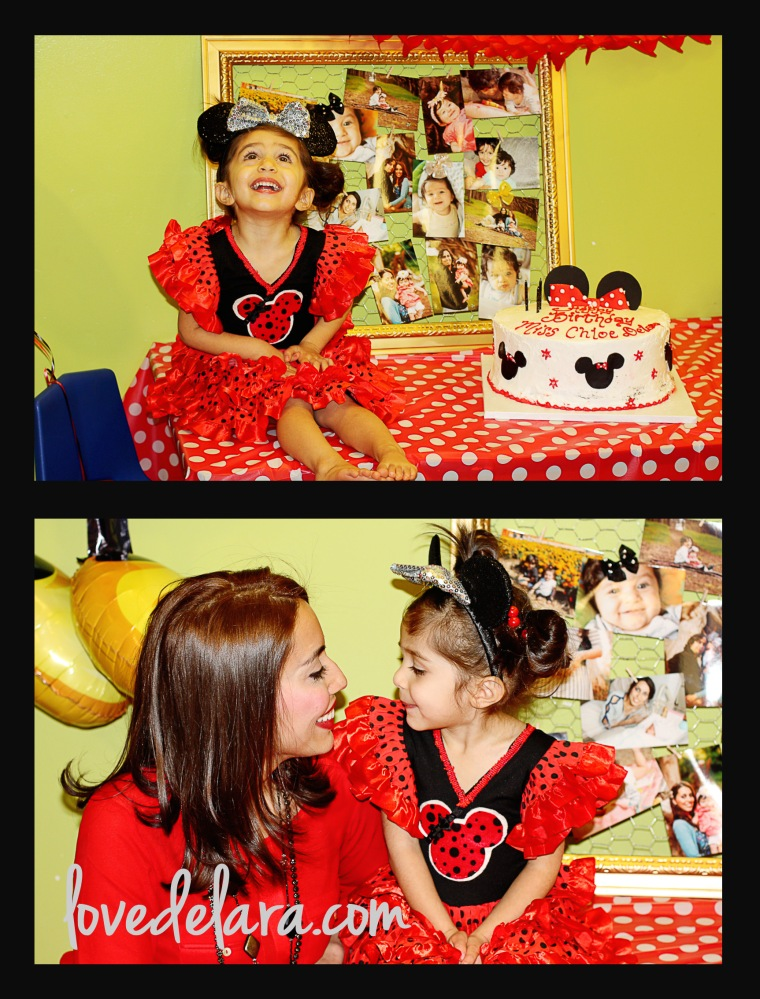 Minnie Themed Party - www.lovedelara.com